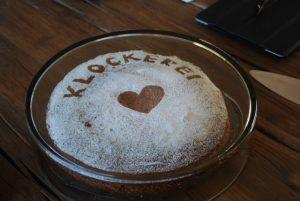 Kuchen für die Klockerei